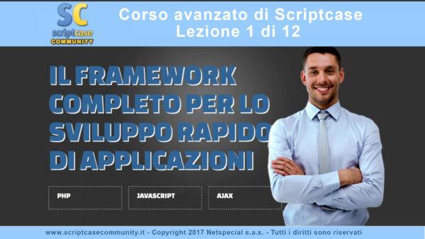 Corso Scriptcase 8.1